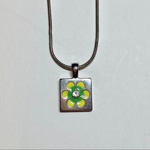 Lia sophia daisy flower necklace